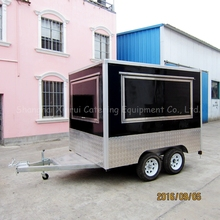 mobile stainless steel food stall design XR-FV300 A