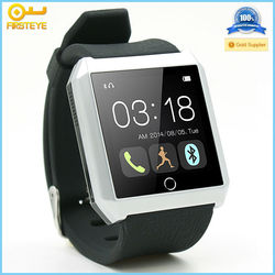 Android 4.4 smart watch mobile phone, power saving bluetooth 4.0 android smart watch 2015