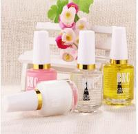 4 pcs /lot Manicure set Base Coat+Softeners+Nutritional oils + Shiny oil Cuticle Revitalizer Oil Nail Oil Cuticle Oil