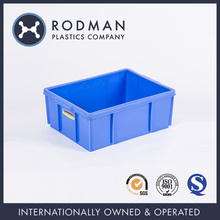 No.3 Plastic Container Reusable Stackable HDPE small plastic containers