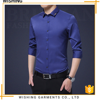 Good supplier hawaiian shirts wholesale men dress shirt man