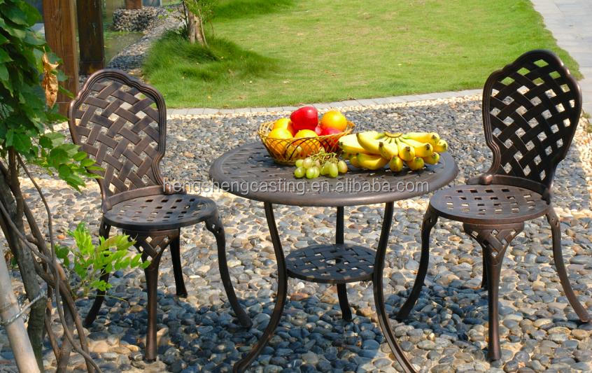 High Quality Cast Aluminum Patio Furniture