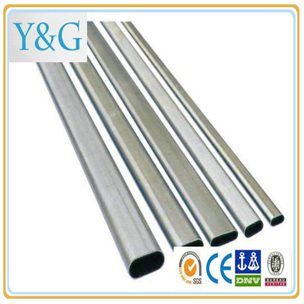 7072 7010 7005 7075 aluminium alloy welding seamless round oval square tube / pipe