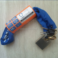Top security bicycle anti theft chain lock