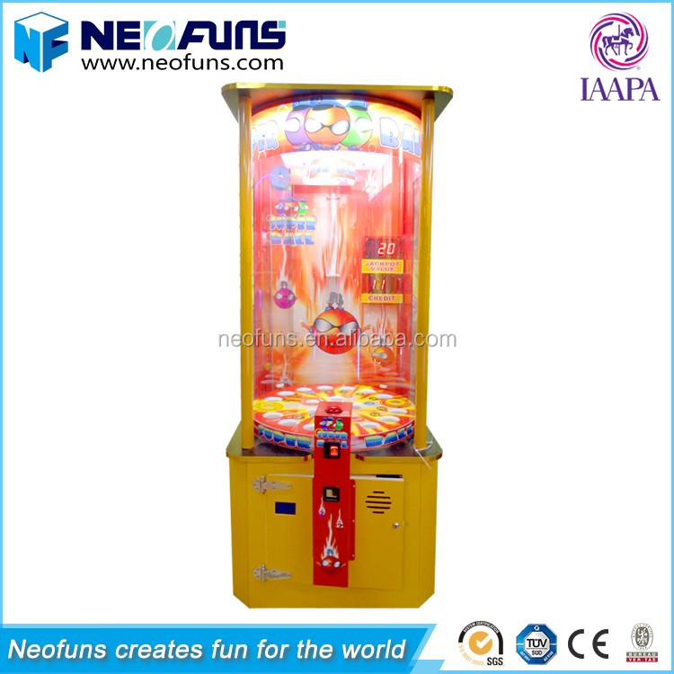 Hot Sale Style Super Ball Redemption Game Arcade Machine Malaysia/Redemption Machine