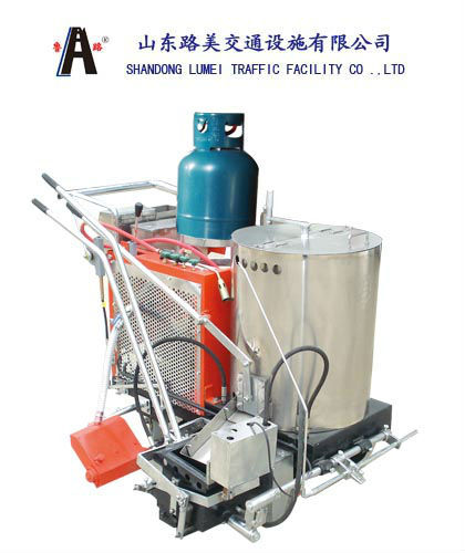 Latest DesignThermoplastic Self-Propelled Vibration Street Line Equipment ,Road Marking Machine