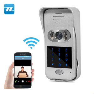 Manufacturer OEM control by APP videophone home alarm system with camera intercon wireless TL-WF02