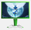 27'' led module monitor for gaming with 144hz and 1ms fast response time