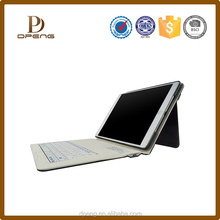 tablet case with auto sleep wake function tablet case for ipad air , leather keyboard case
