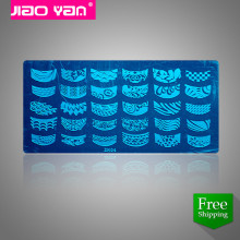 Free shipping ZK series Stainless Steel Nail Art Stamping Plate Template #3307