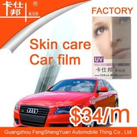 New product skin care hydrographic film,UV rejection film, car sticker for car well
