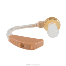 Behind Ear Battery Included Hearing Aid for Elderly