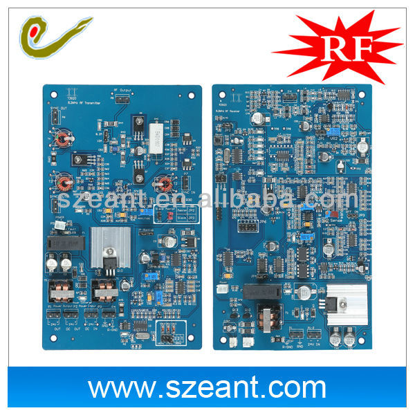 EAS PCB Boards, 8.2mhz RF Motherboard, RF Dual 3920 Mainboards eas products accessories