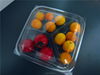 disposable plastic food tray for fruit plastic food tray for fruit compartment clear food tray