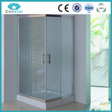 ISO9001 Frameless low shower enclosure shower room fittings shower enclosure parts