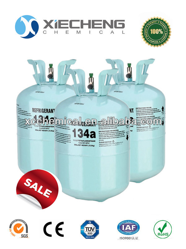 [Direct manufacturers] Disposable cylinder 30lb Auto refrigerant R134a gas 30lb