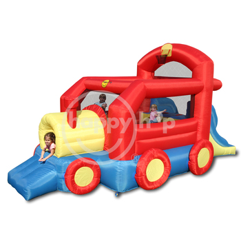 Happy Hop Inflatable train bouncer-9054 Bouncy Train