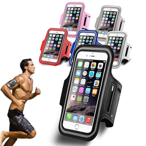 Sport Armband Waterproof Case Universal for iPhone 7 Plus, for Samsung Galaxy S7 Edge, Mobile Phone Accessories
