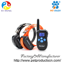 Petrainer Beep / Vibration / Shock Electric PET998DBB dog training collar 330 Yards Remote beep vibration shock E-collar