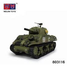 Super product 2.4G rc tank 1:16 M4A3 with smoking for sale