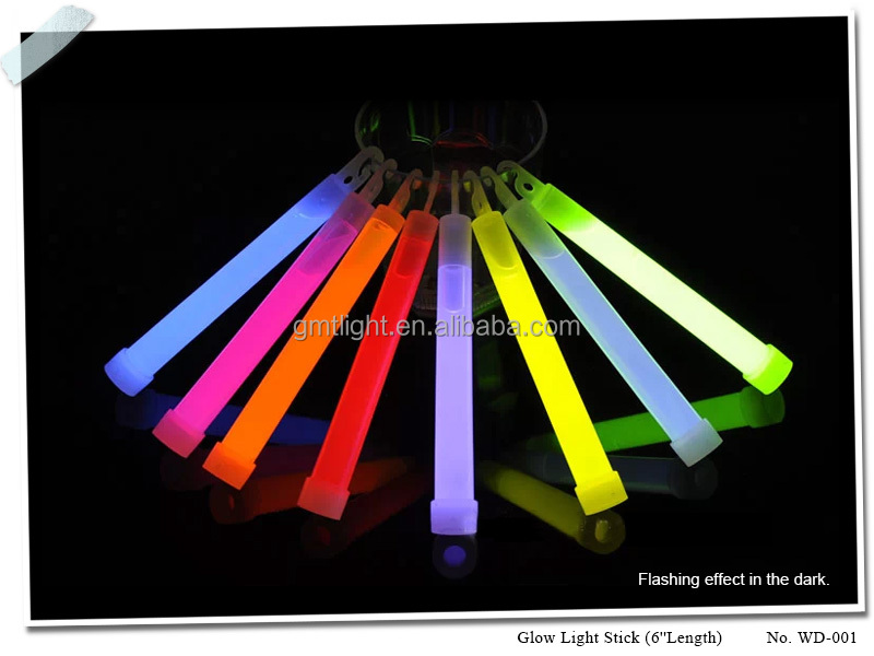 12-15*150mm sized super bright 6inch Glow Stick