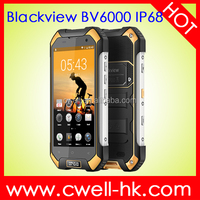Blackview BV6000 IP68 Waterproof 4G LTE Rugged phones original smartphone 4g 6.0 4.7 inch Octa Core RAM 3GB ROM 32GB GPS NFC SOS