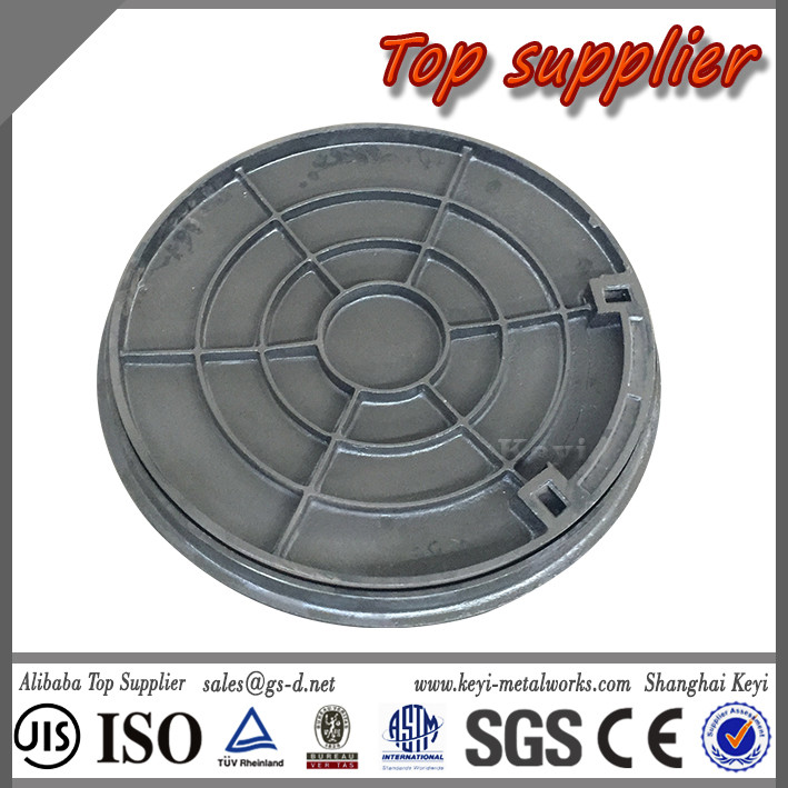 Recommended Top Supplier Quick Delivery OEM Manhole Cover&Customized Round Recessed Manhole Cover