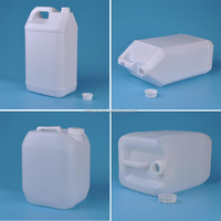 11 liter plastic oil container for engine oil, chemical, water storage
