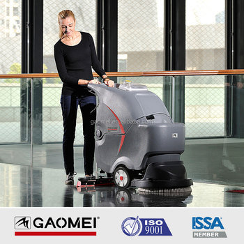 GM50B high quality walk behind floor scrubber machine