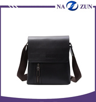 New fashion pu leather shoulder sling leather messenger bags for men