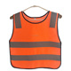 Fluorescent green child Kids Security Reflective Stripe Vest