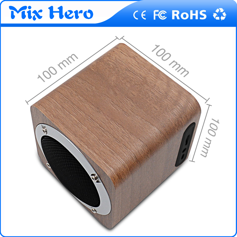 Customized cube 8w speaker with bluetooth