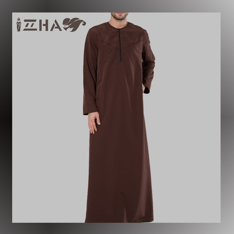 2017 Simple Latest Design Moroccan Prayer Robes For Men In Duabi