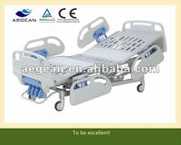 AG-BMS001C Hot sales!!! High quality Bed surface with abs soft joint 5-Function medical crank bed