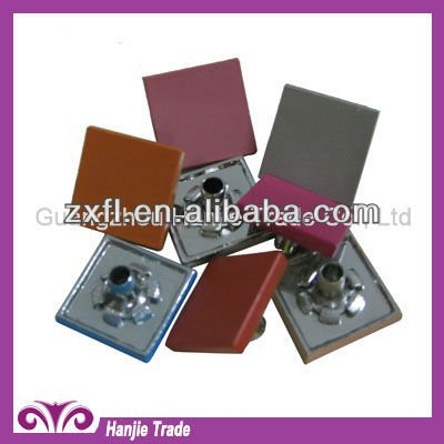 Decorative Flat Top Square Rivet Studs for Leather Bags