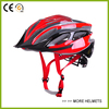 Quality in-mold bicycle helmet with black EPS and PC cover best road bike helmet