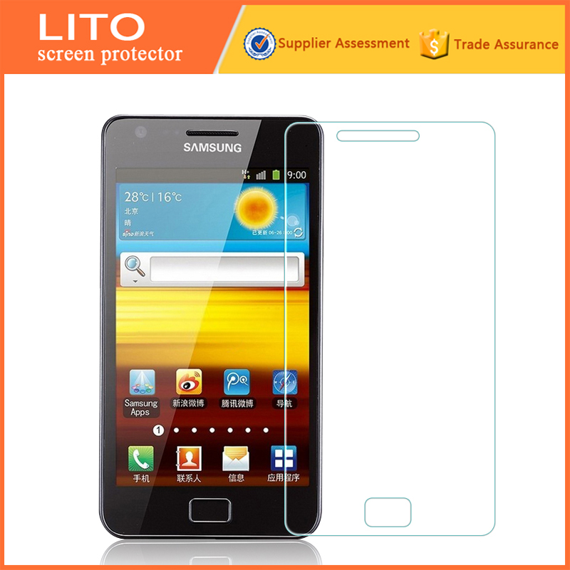 2016 Newest Hot Sold Explosion-proof screen protective film for samsung galaxy s2 screen guard