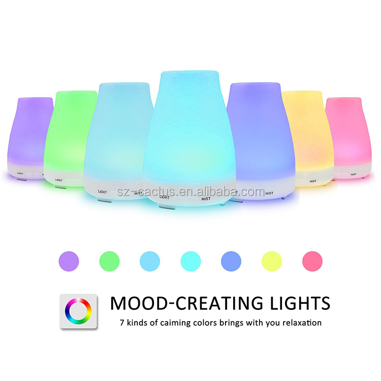 7 Color LED Light Essential Oil Diffuser Walmart Canada For SPA