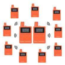 Portable Two-Way Wireless Digital Radio Transmitter And Receiver Tour Guide System For <strong>Communication</strong>