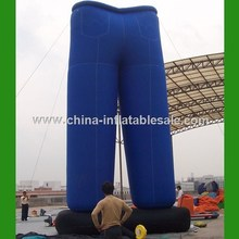 Hot sale giant inflatable pants model,advertising inflatable model