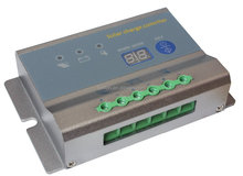 Popular product CE approved 10A 12V / 24V LCD / LED high efficiency MPPT Solar Charge Controller