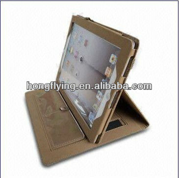 2013 Leather Case for iPad 2, with Knitting Design and Easy to Remove, OEM Orders are Welcome