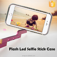 For Apple iPhones Compatible Brand and Plastic,PC Material selfie led case