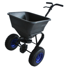 Fertilizer spreader garden tool cart,manual fertilizer spreader truck for sale