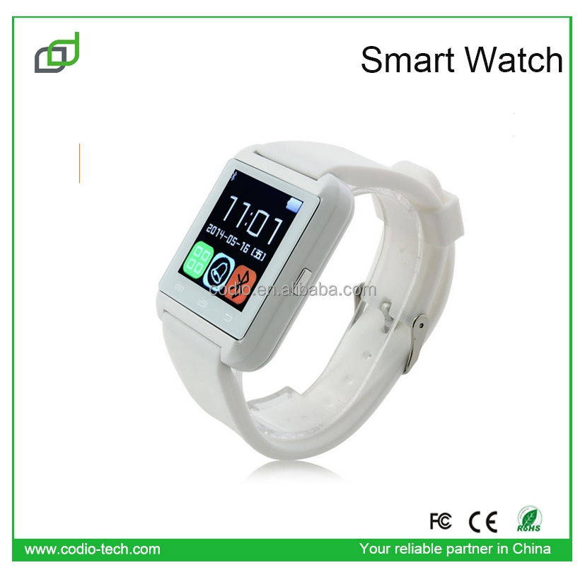 Promotion news! touch screen IOS U8 smartwatch