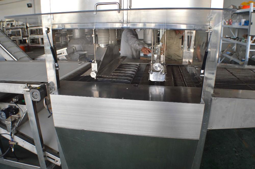 chocolate covering machine