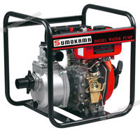 3 inch powered by 296cc new diesel engine small electric water pump