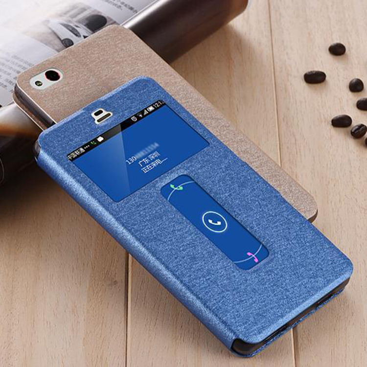 2016 top quality Oem leather cell phone case s4