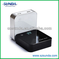 Square 8400mah 12v Battery Charger/for Macbook External Battery Charger