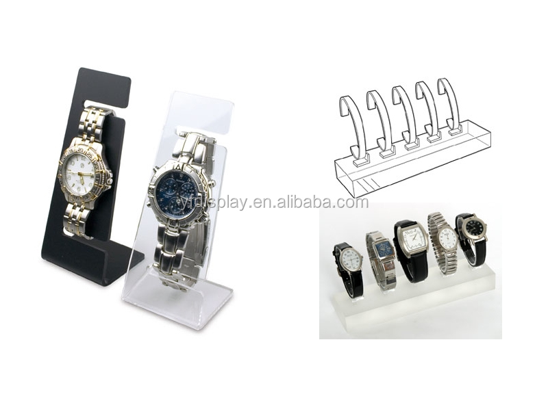 hot sale acrylic wrist watch display stand holder